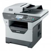 Multifunctionala Laser Monocrom Brother DCP-8085DN, Duplex, A4, 32 ppm, 1200 x 1200, Parallel, USB, Retea