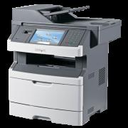 Multifunctionala Laser Monocrom Lexmark x466de, Imprimanta, Copiator, Scanner, Fax, USB 2.0, Retea, Duplex