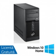 Fujitsu Siemens Esprimo P510, Intel Dual Core G640, 2.8GHz, 4GB DDR3, 500GB SATA, DVD-RW + Windows 10 Home