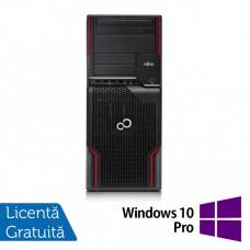 Workstation FUJITSU CELSIUS W510, Intel Core i5-2400S 2.5GHz - 3.3GHz, 4GB DDR3, 250 GB HDD, DVD-ROM + Windows 10 Pro