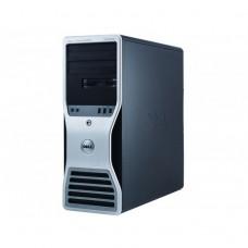 Workstation Dell T5500, Intel Xeon E5645 Hexa Core 2.4GHz, 12GB DDR3, 500GB SATA, GeForce GT 605 1GB, DVD-RW