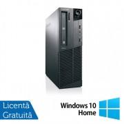 Calculator Refurbished LENOVO M81, SFF, Intel Core i5-2400, 3.10 GHz, 4 GB DDR3, 160GB SATA, DVD-ROM + Windows 10 Home