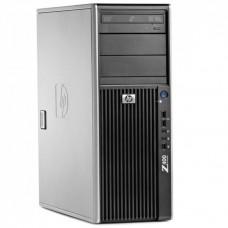 WorkStation HP Z400, Intel Xeon Quad Core E5620, 2.40GHz, 4GB DDR3 ECC, 500GB SATA, NVIDIA GT605/1GB, DVD-RW