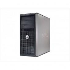 Calculator Dell 745 Tower, Intel Core2 Duo E6300 1.86Ghz, 2GB DDR2, 80GB SATA, DVD-ROM