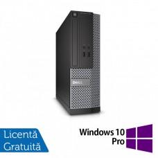 Calculator DELL 3020 SFF, Intel Core i3-4130 3.40 GHz, 8GB DDR3, 500GB SATA, DVD-ROM + Windows 10 Pro