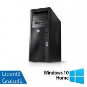 Workstation HP Z420, CPU Intel Xeon E5-1620 V2 3.70GHz-3.90GHz Quad Core, 8GB DDR3 ECC, 1TB HDD, nVidia Quadro K2000/2GB GDDR5, DVD-RW + Windows 10 Home