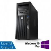 Workstation HP Z420, CPU Intel Xeon E5-1620 V2 3.70GHz-3.90GHz Quad Core, 8GB DDR3 ECC, 1TB HDD, nVidia Quadro K2000/2GB GDDR5, DVD-RW + Windows 10 Pro