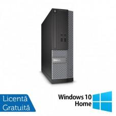 Calculator DELL Optiplex 3020 SFF, Intel Core i5-4570s 2.90 GHz, 4GB DDR3, 500GB SATA, DVD-RW + Windows 10 Home