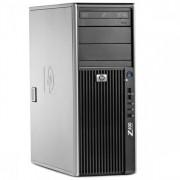 WorkStation HP Z400, Intel Xeon Quad Core W3520 2.66GHz-2.93GHz, 8GB DDR3, 500GB SATA, Placa Video nVidia Quadro FX580/512MB-128 biti, DVD-RW