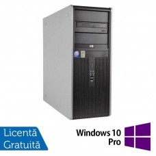 Calculator HP DC7900 Tower, Intel Core 2 Quad Q9400 2.66GHz, 4GB DDR3, 150GB SATA, DVD-RW + Windows 10 Pro