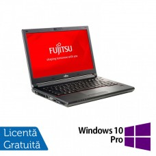 Laptop Fujitsu Lifebook E746, Intel Core i5-6200U 2.30GHz, 8GB DDR4, 240GB SSD, 14 Inch + Windows 10 Pro