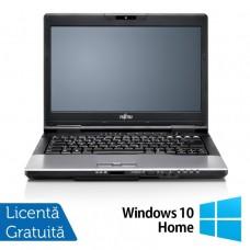 Laptop Fujitsu Lifebook S752, Intel Core i5-3230M 2.6GHz, 8GB DDR3, 500GB SATA, DVD-RW, 14 Inch + Windows 10 Home