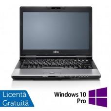 Laptop Fujitsu Lifebook S752, Intel Core i5-3230M 2.6GHz, 8GB DDR3, 500GB SATA, DVD-RW, 14 Inch + Windows 10 Pro