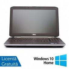 Laptop DELL Latitude E5520, Intel Core i5-2430M 2.40GHz, 4GB DDR3, 250GB SATA,15 Inch, Tastatura Numerica + Windows 10 Home