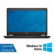 Laptop Dell Latitude E7450, Intel Core i7-5600U 2.60 GHz, 8GB DDR3, 512GB SSD, LED Display, HDMI, Full HD, Webcam, 14 Inch + Windows 10 Home