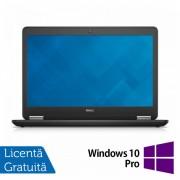 Laptop Dell Latitude E7450, Intel Core i7-5600U 2.60 GHz, 8GB DDR3, 512GB SSD, LED Display, HDMI, Full HD, Webcam, 14 Inch + Windows 10 Pro