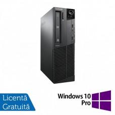 Calculator Lenovo ThinkCentre M92p SFF, Intel Core i5-3550 3.30GHz, 8GB DDR3, 120GB SSD, DVD-RW + Windows 10 Pro