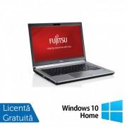 Laptop FUJITSU SIEMENS E734, Intel Core i5-4300M 2.60GHz, 8GB DDR3, 120GB SSD, 13.2 inch + Windows 10 Home
