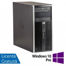 Calculator HP 6200 Tower, Intel Pentium G645 2.90GHz, 8GB DDR3, 500GB SATA, GeForce GT210 512MB DDR3, DVD-ROM + Windows 10 Pro (Top Sale!)