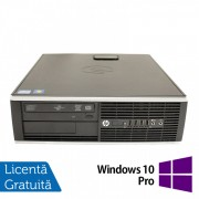 Calculator HP 8200 SFF, Intel Pentium G645 2.90GHz, 4GB DDR3, 250GB SATA, DVD-ROM, Port Serial, Display Port + Windows 10 Pro (Top Sale!)