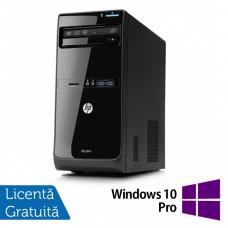 Calculator HP Pro 3400 Tower, Intel Core i3-2120 3.30GHz, 4GB DDR3, 500GB SATA, DVD-RW + Windows 10 Pro