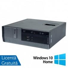 Calculator DELL 3010 SFF, Intel Core i3-2120 3.30GHz, 4GB DDR3, 250GB SATA, DVD-ROM + Windows 10 Home