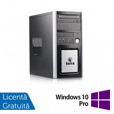 Calculator TERRA Tower, Intel Pentium G3220 3.00GHz, 8GB DDR3, 500GB SATA, DVD-ROM + Windows 10 Pro