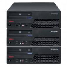 Pachet 3x Calculator LENOVO M58 SFF, Intel Core 2 Duo E7500 2.93GHz, 4GB DDR2, 160GB SATA