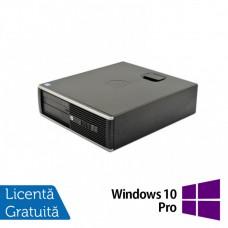 Calculator HP 6300 SFF, Intel Core i5-3470 3.20GHz, 4GB DDR3, 250GB SATA, ATI HD7470 1GB GDDR3 + Windows 10 Pro