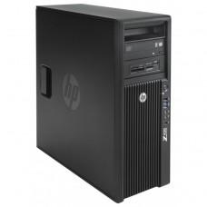 Workstation HP Z420, CPU Intel Xeon E5-1603 2.80GHz Quad Core, 16GB DDR3 ECC, 240GB SDD, Placa video Gaming AMD Radeon R7 350 4GB GDDR5 128-Bit, DVD-RW